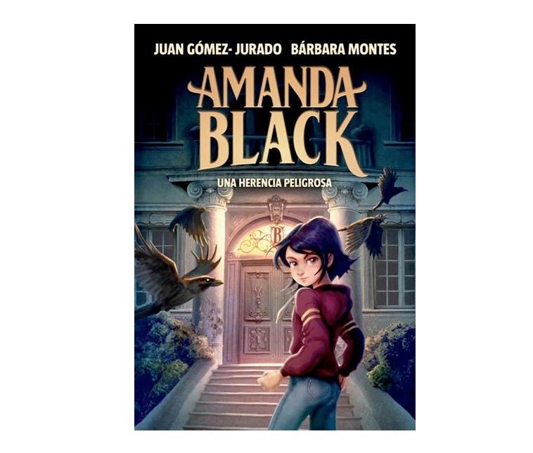 Llibre juvenil Amanda Black. Una herencia peligrosa