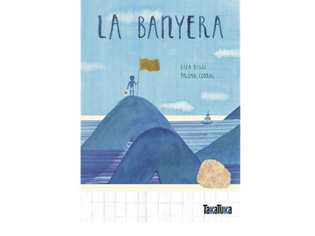 Llibre infantil La banyera, de Lisa Biggi