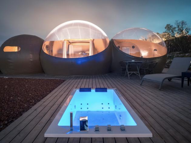 Miluna Open Nature Rooms. Hotel burbuja en Toledo