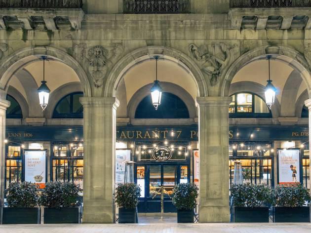 Un febrero para enamorarse con el restaurante 7 Portes de Barcelona