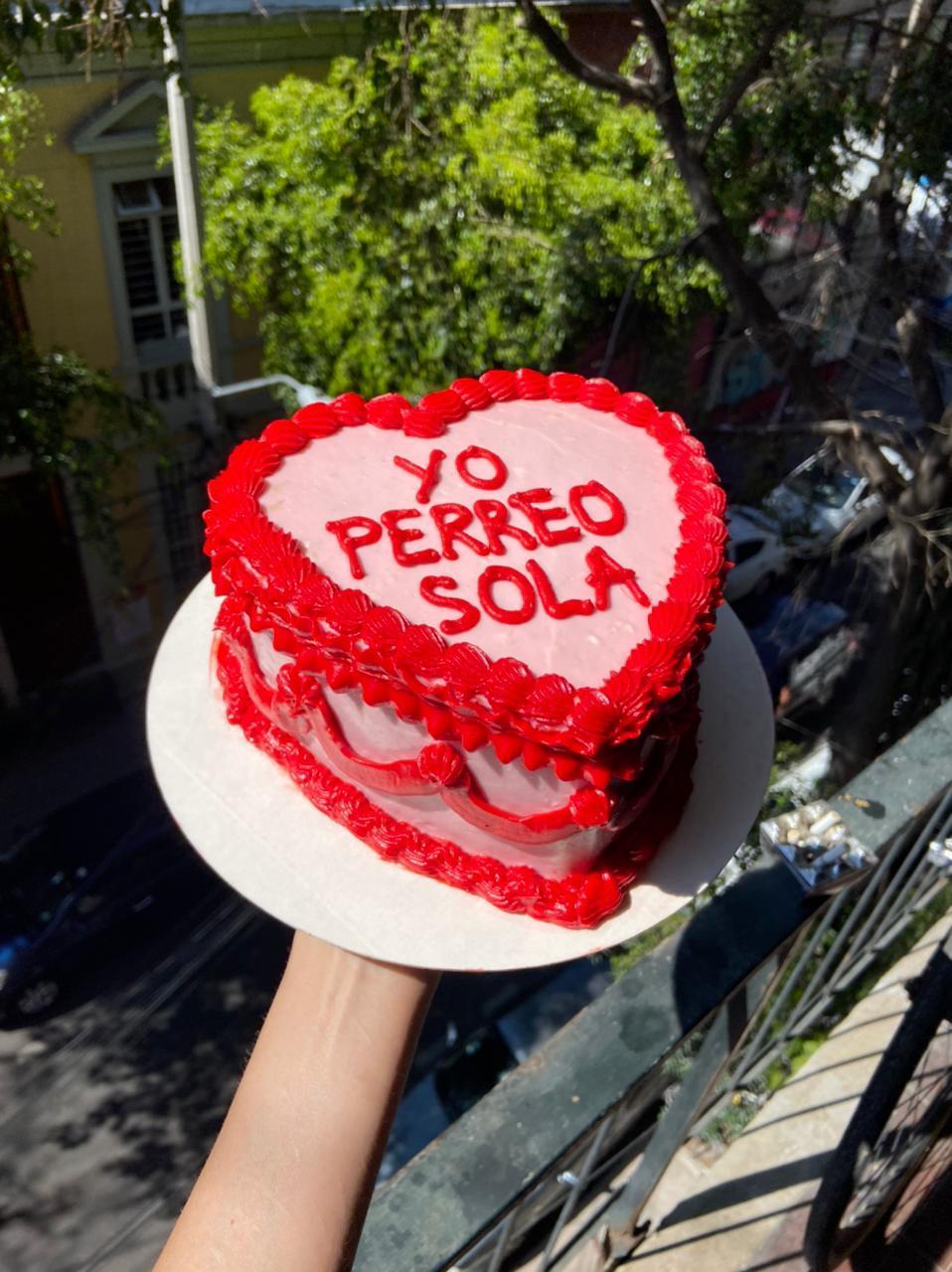 Pasteles de corazón para celebrar el 14 de febrero