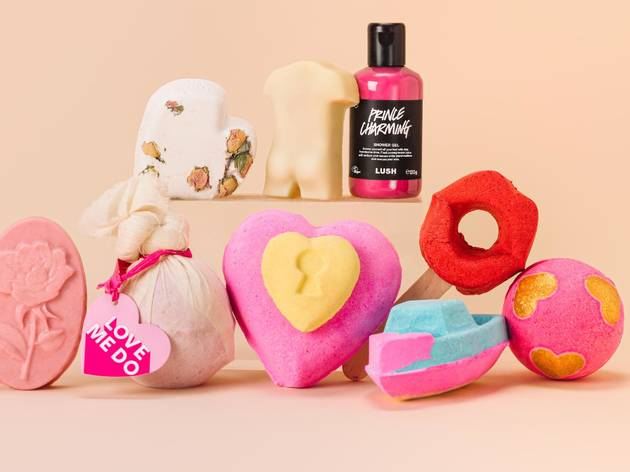 Lush Valentine's Day set
