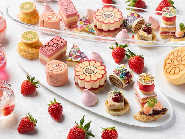 Takashi Murakami Flower Strawberry Afternoon Tea