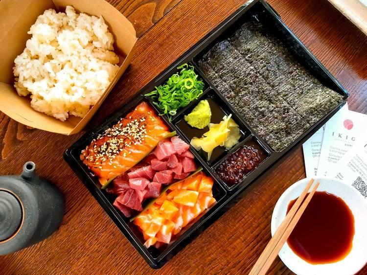 Caixas DIY para preparar receitas de restaurantes em casa