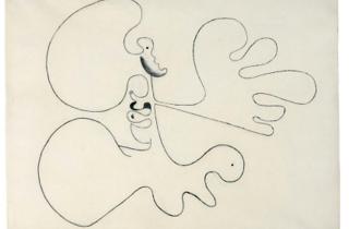 Joan Miró drawing