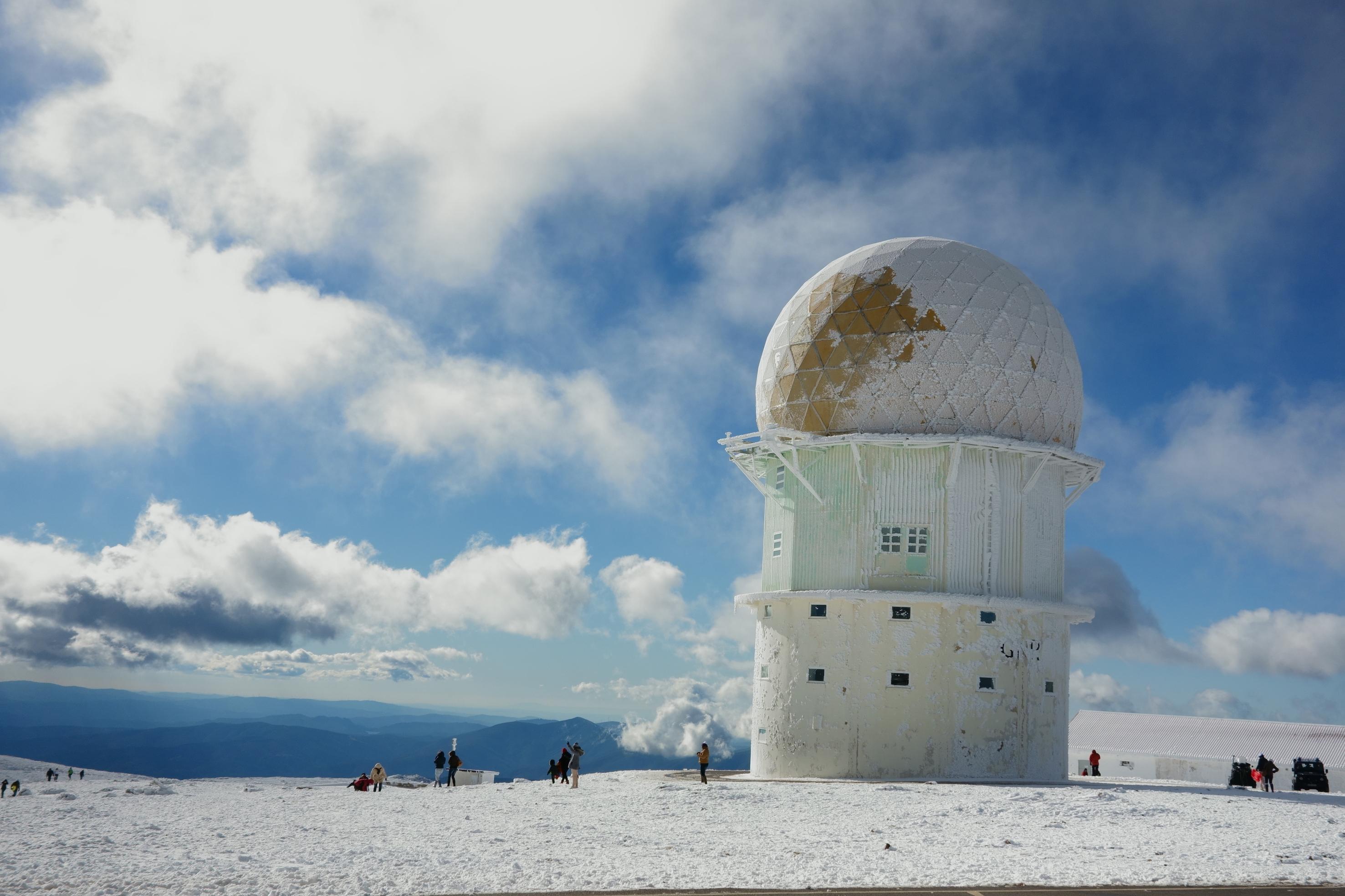 Torre Serra da Estrela. Estación de esquí en Portugal