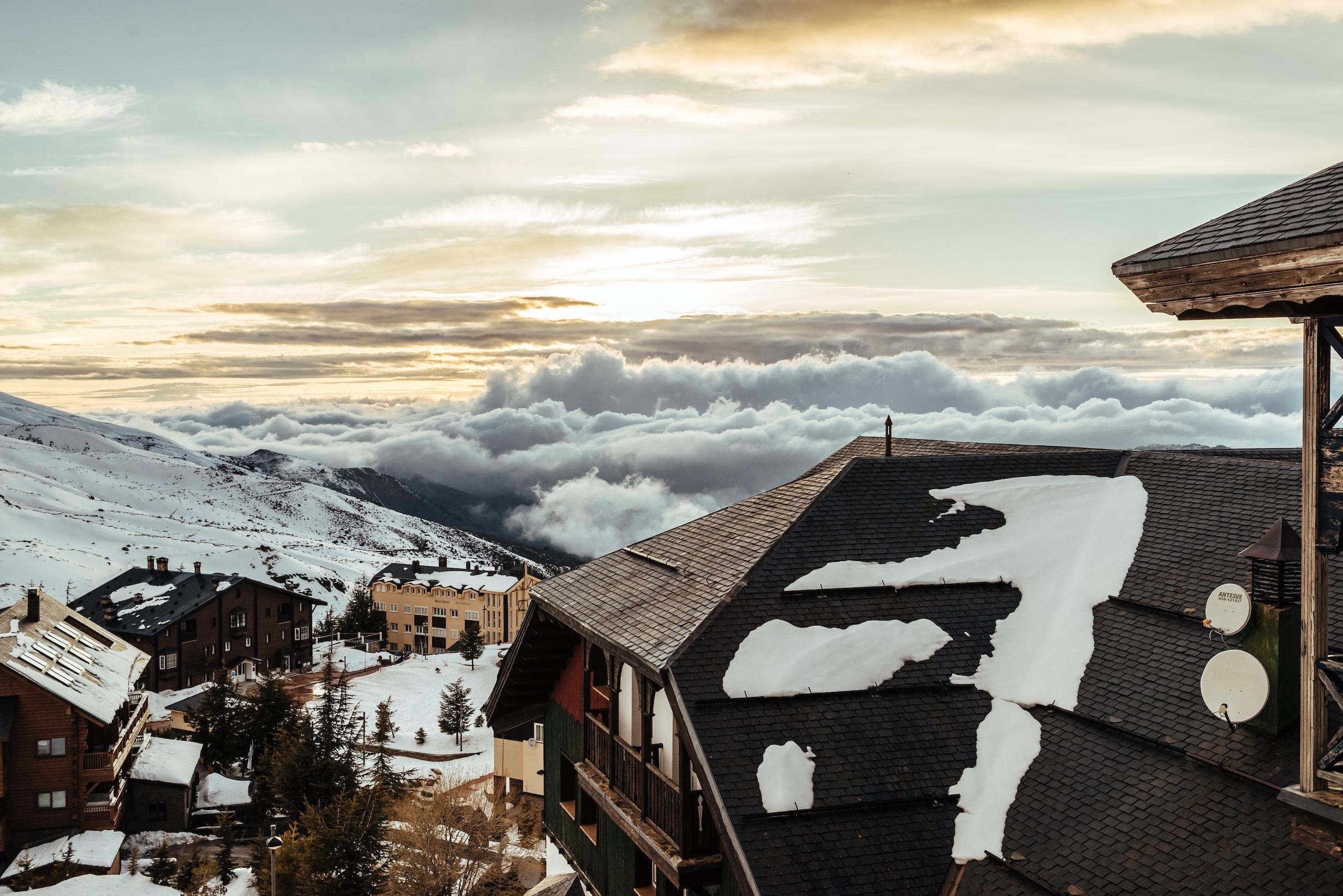 Monachil. Estación de esquí en Granada
