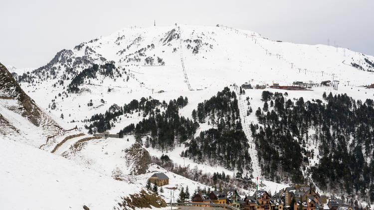 Baqueira Beret nevado
