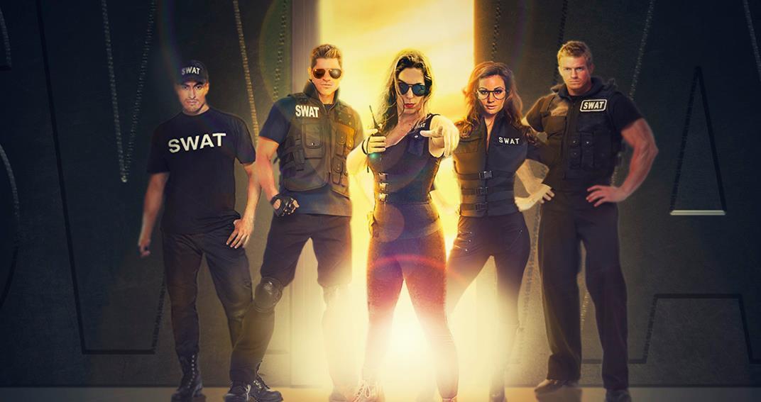 Escape room a l'aire lliure Swat Countdown