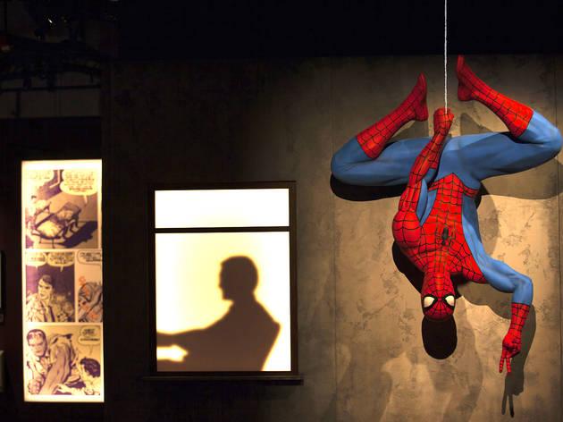 Marvel exhibition MSI