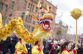 Any nou xinès a Barcelona