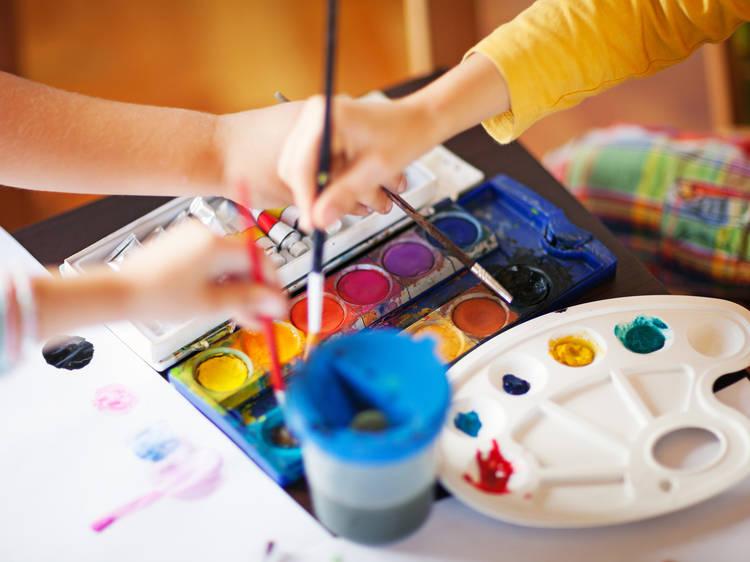 Clases de arte online para niños con Warholitos