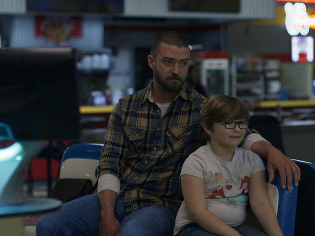 "Justin Timberlake and Ryder Allen in ""Palmer,"