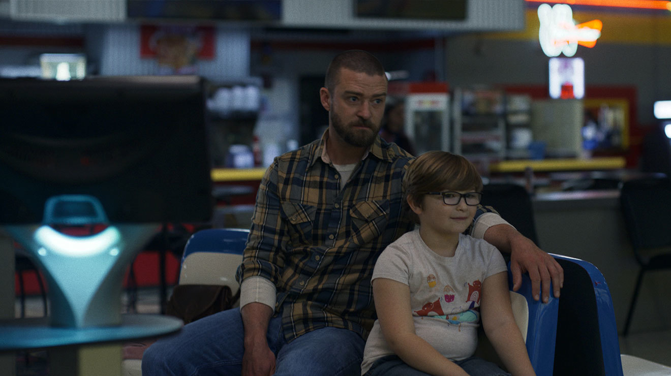 """Justin Timberlake and Ryder Allen in """"Palmer,"""
