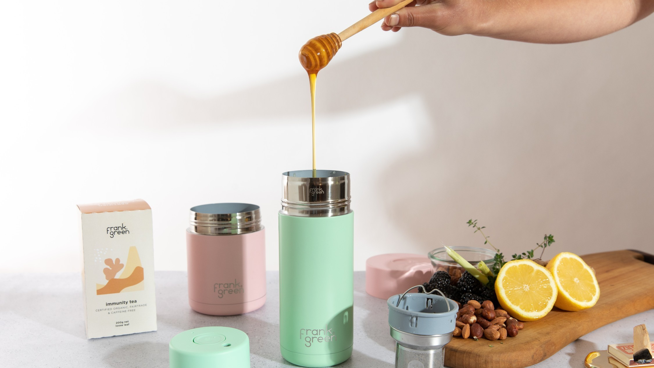 Sustainable cups set