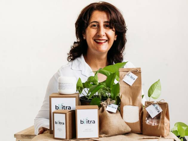bVitra body care products and their founder