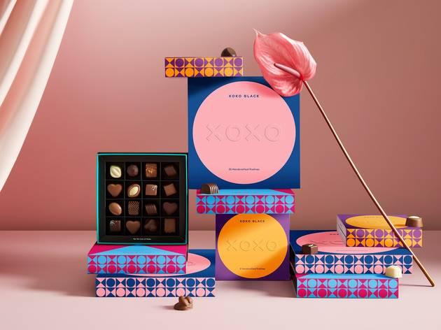 Koko Black Valentine's Day range of chocolates