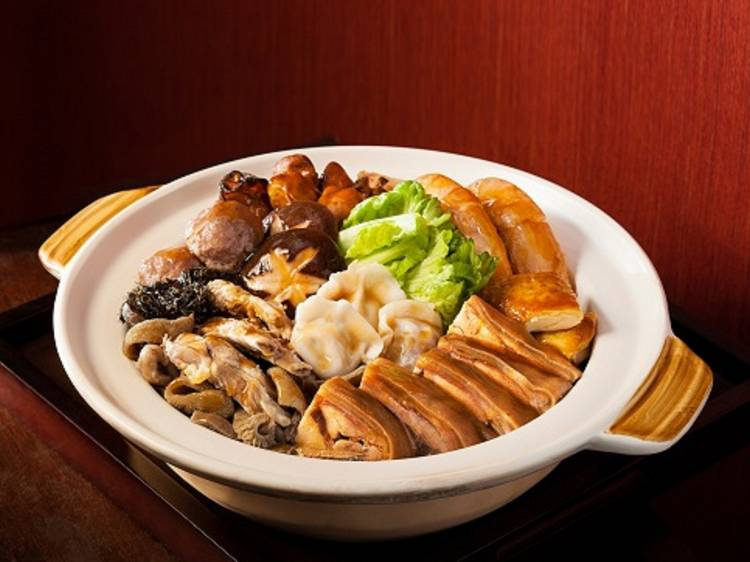 東來順:內蒙古羊肉風味盆菜