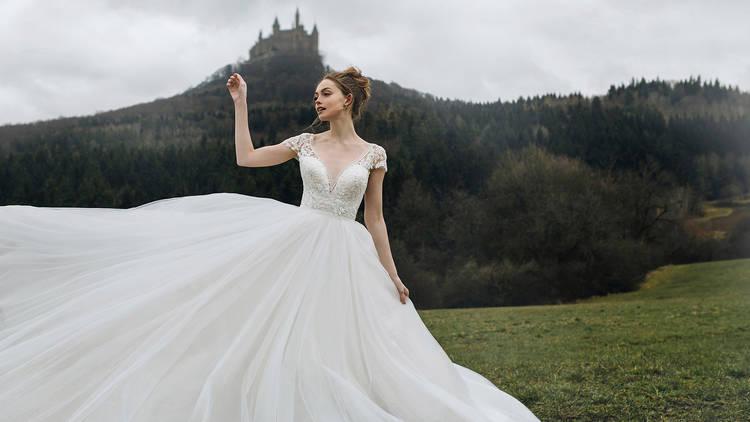 Vestidos de novia inspirados en princesas de Disney confeccionados por Allure Bridals