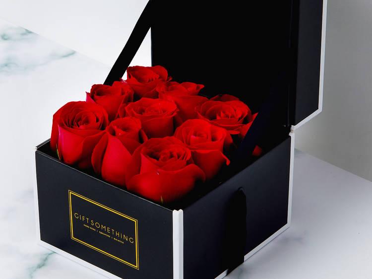 Gift Flowers HK's boxed roses