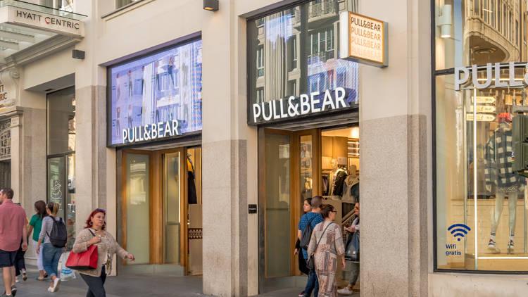 Pull&Bear Madrid Gran Vía. Inditex