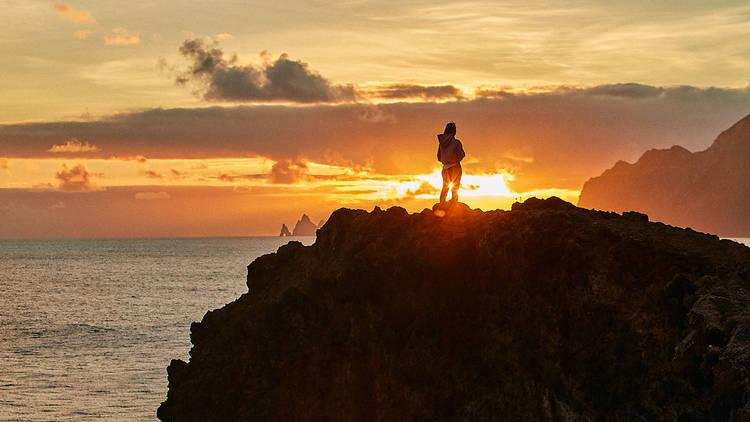 Miradouro do Guindaste do Faial, Nascer do Sol, Madeira