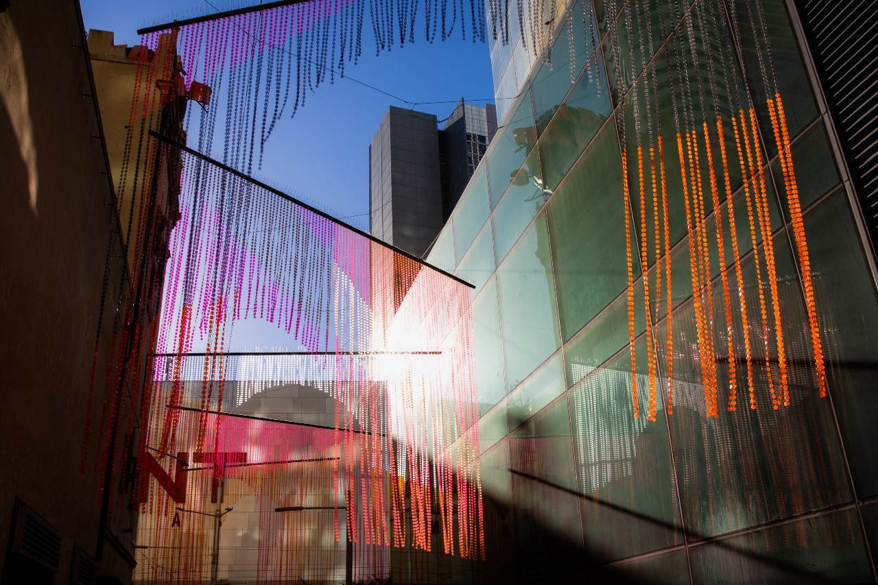 An art installation in Wilmot St, Sydney