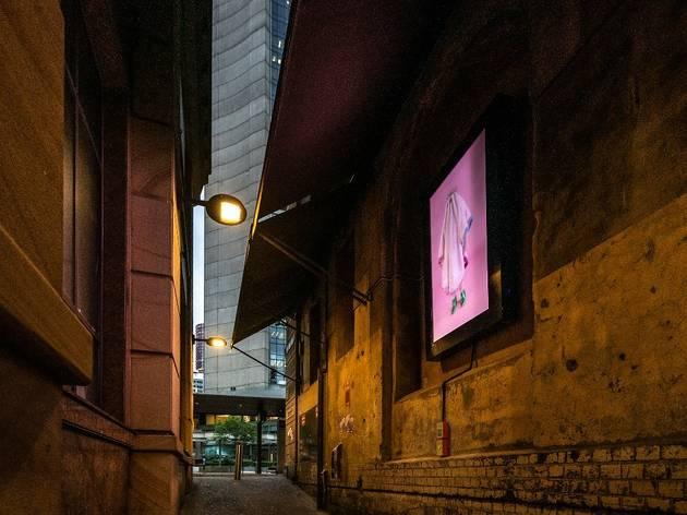 An art installation in Abercrombie Lane, Sydney