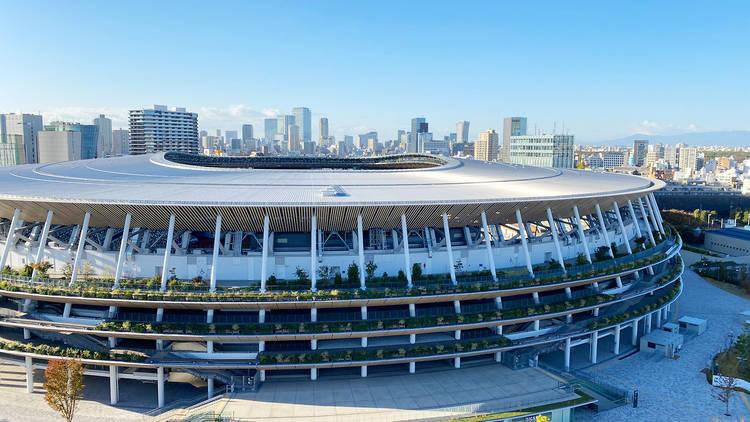 Olympic Stadium in Tokyo