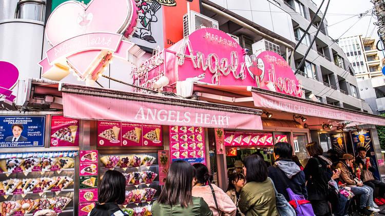 Cafe Crepe Angels Heart