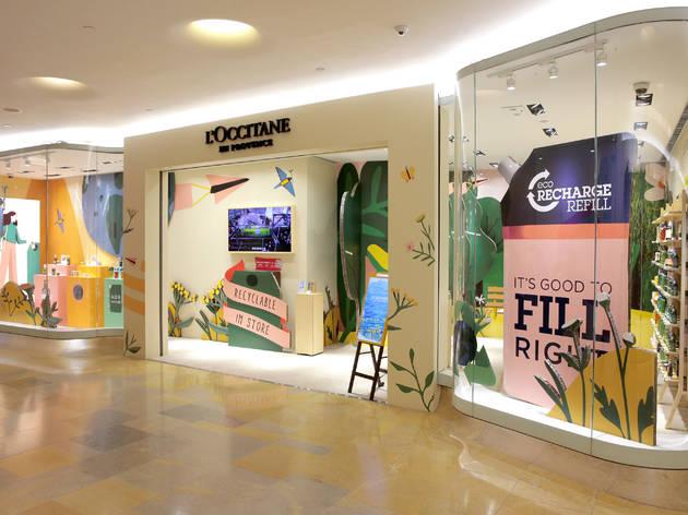 L'Occitane's MEGA concept store