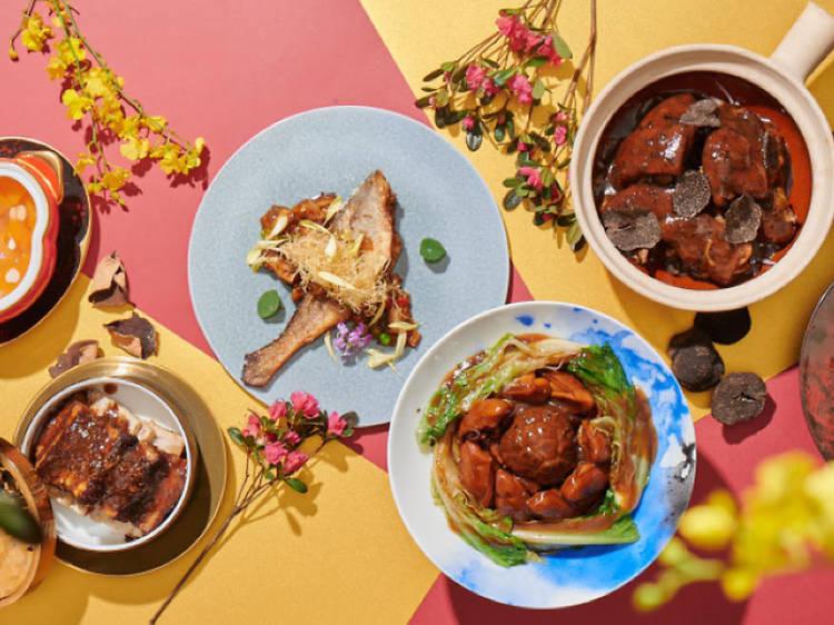 唐人館置地廣場: 多款意頭菜