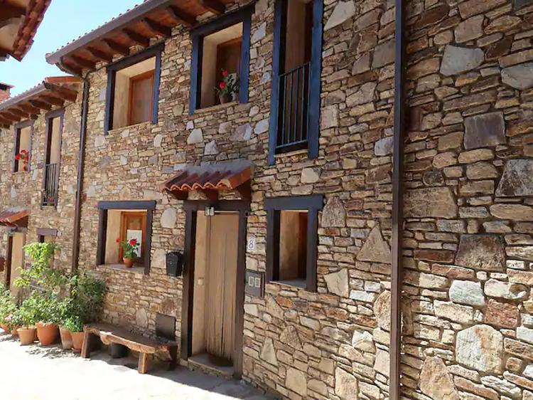 La casa emboscada en Horcajo de la Sierra