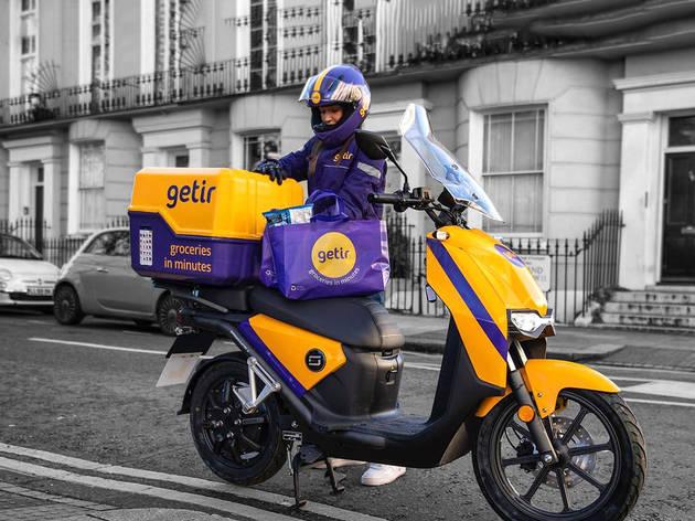 Getir delivery bike