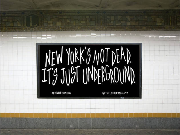 "NYC artists launch a full-scale creative response to ""New York is Dead"""