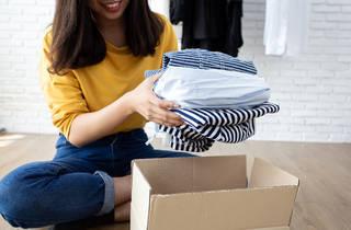 donation, clothes