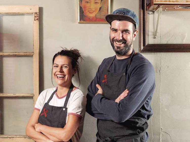 Raquel Blasco and Marc Santamaria