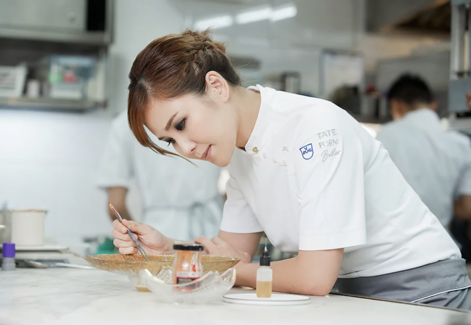 Vicky Lau, head chef and owner of Tate Dining Room