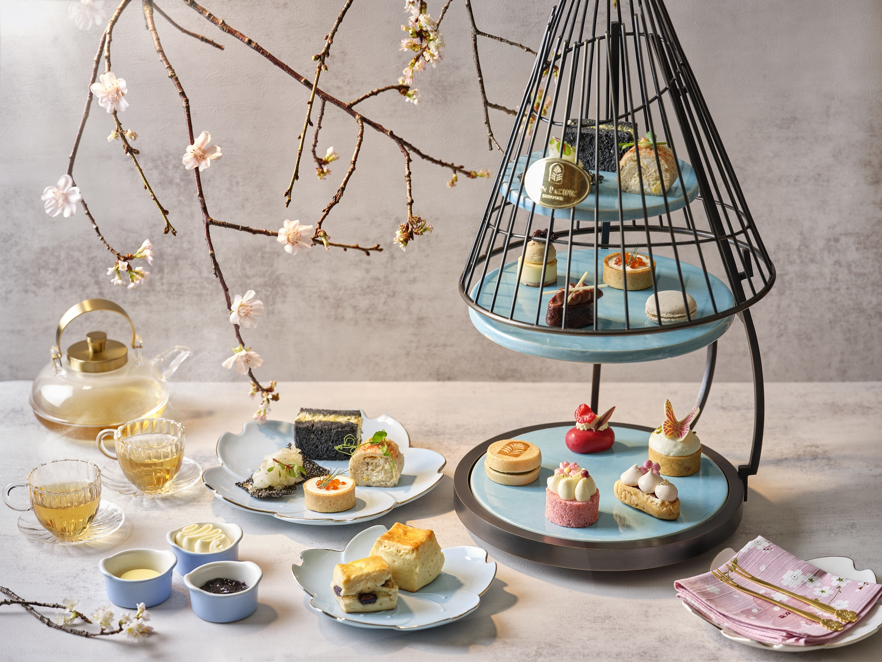 Pan Pacific Japanese-inspired Afternoon Tea