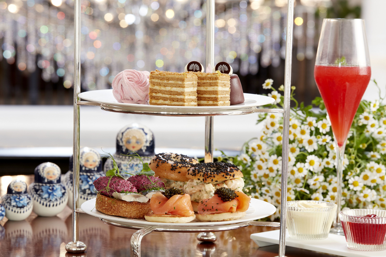 Raffles Hotel Moscow Afternoon Tea