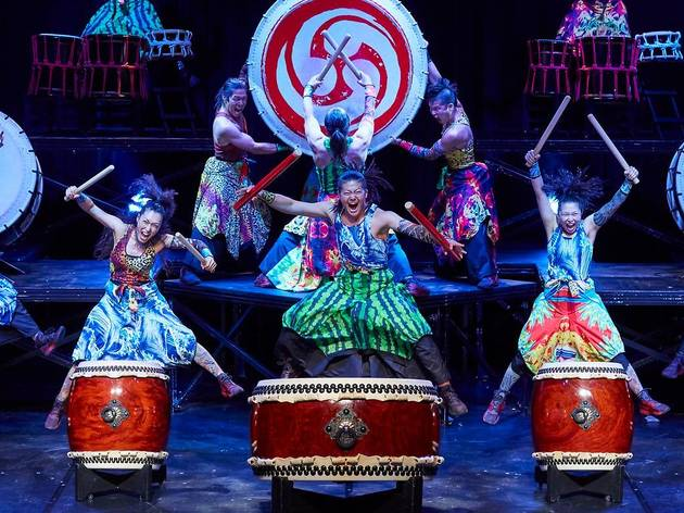 Watch these performances of the Yamato taiko drummers for free on YouTube