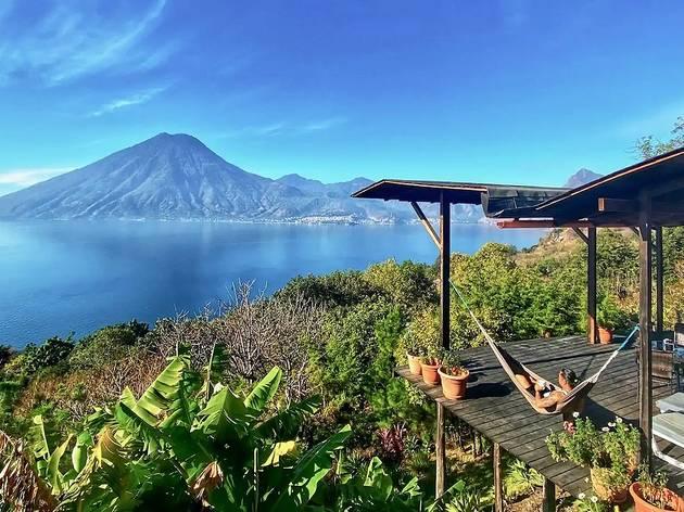 Lakeview Lodge, Lago Atitlán, Guatemala