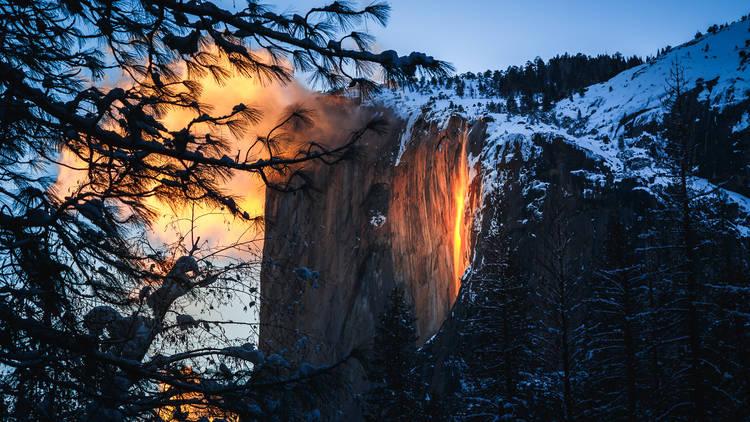 Firefall in Yosemite