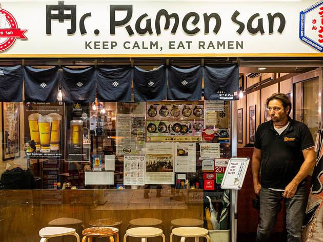 Mr Ramen-san (Photograh: Parker Blain)