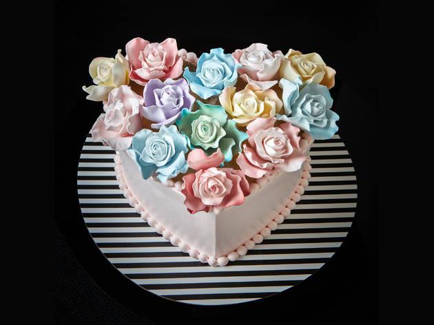 Ms B's Cakery Love cake