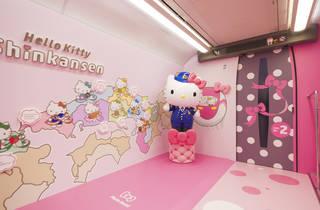Hello Kitty shinkansen