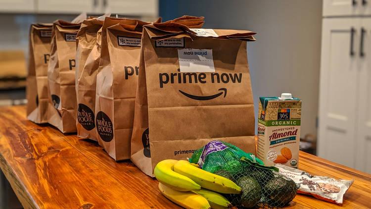 Amazon Prime Fresh Supermercado