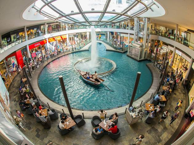 Shopping malls with stunning designs in Singapore