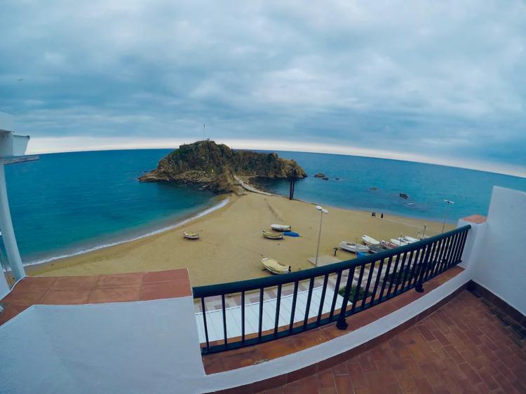 Casa Sa Palomera, a pie de la playa de Blanes