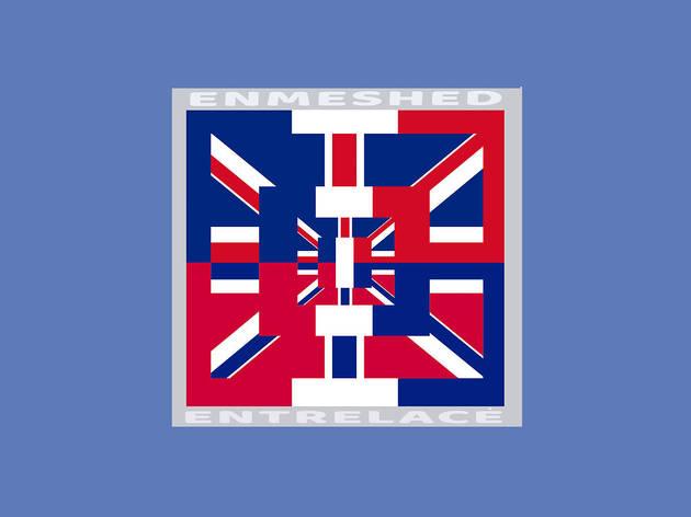 Brian Eno's Franglish Flag artwork for Somerset House